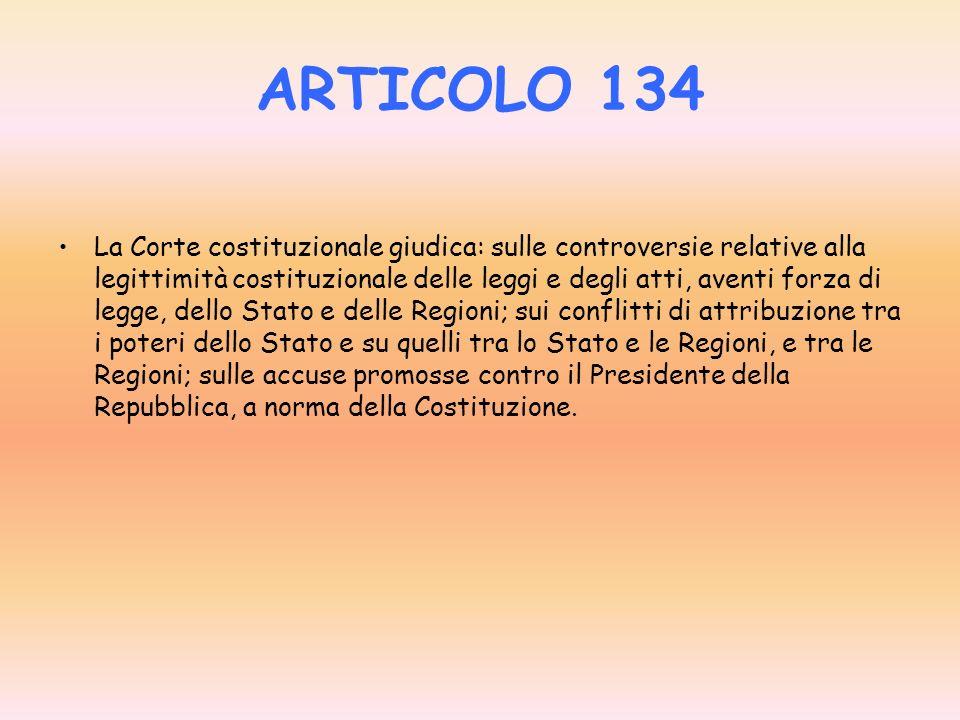 ARTICOLO 134