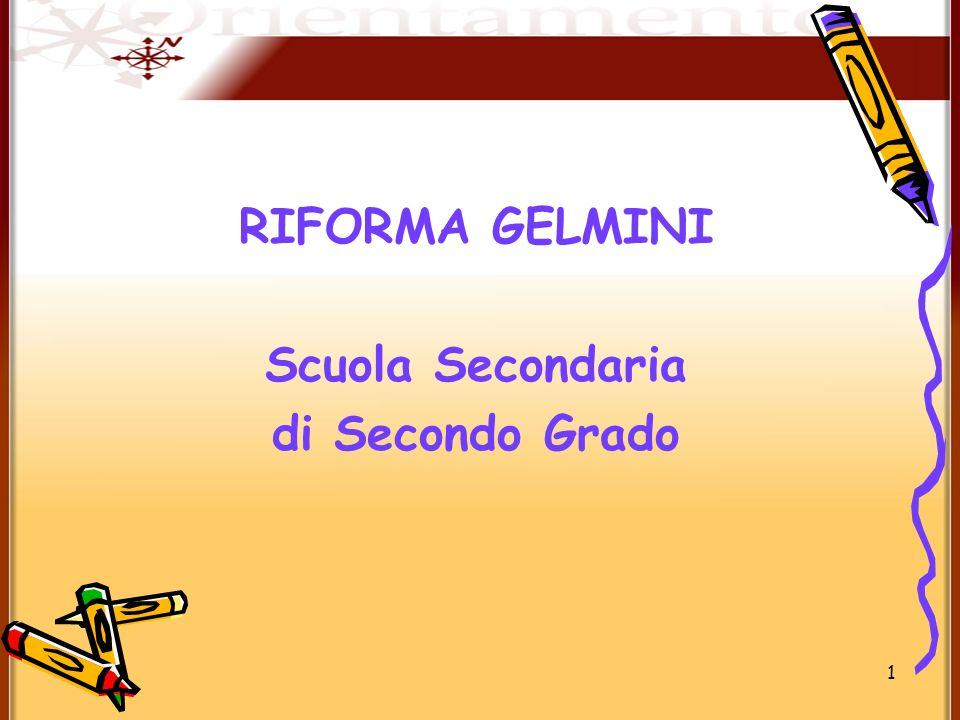 Riforma gelmini scuola secondaria di secondo grado ppt - Tavola di tracciamento secondo grado ...