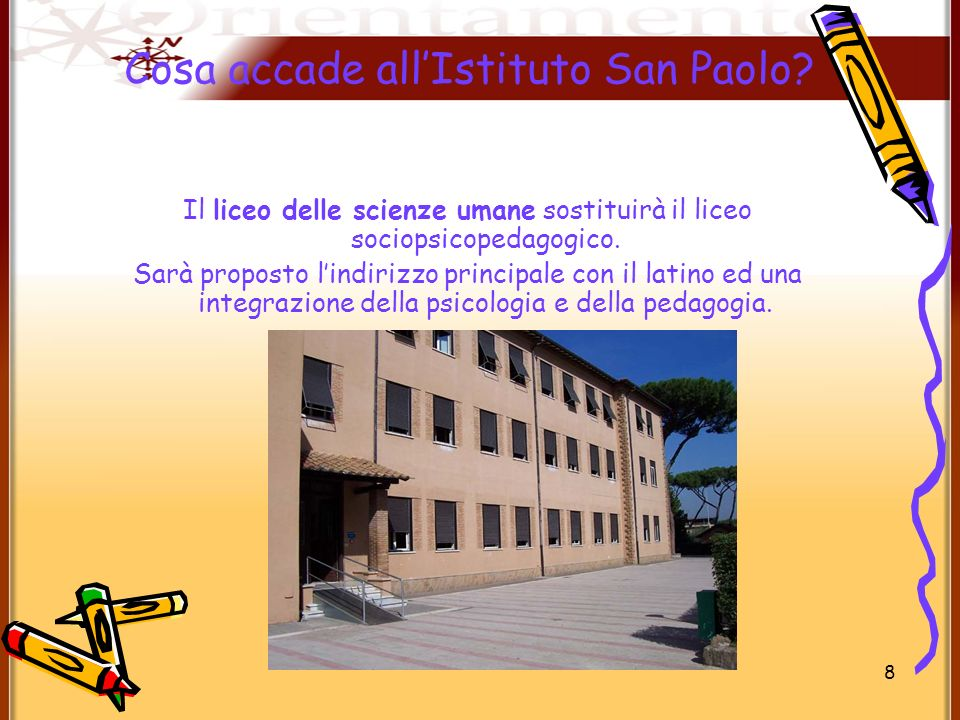 Cosa accade all'Istituto San Paolo