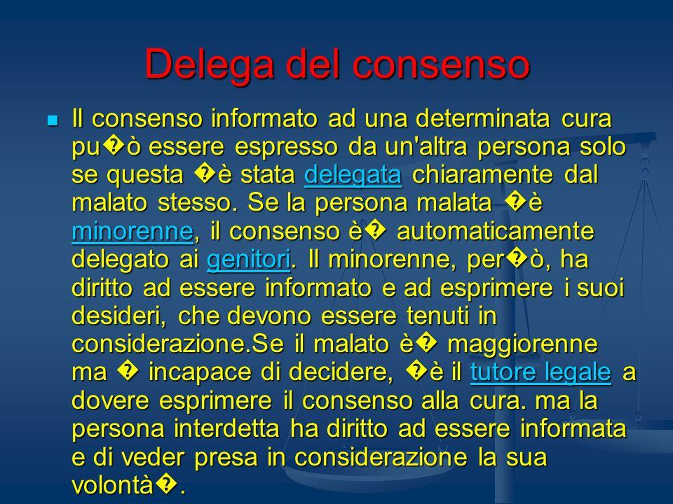 Delega del consenso