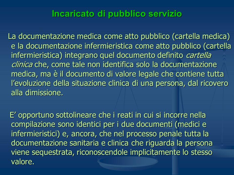 Incaricato di pubblico servizio
