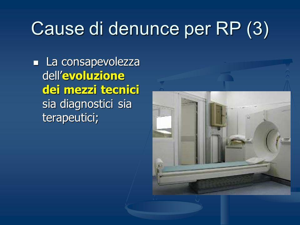 Cause di denunce per RP (3)