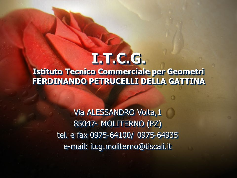 e-mail: itcg.moliterno@tiscali.it