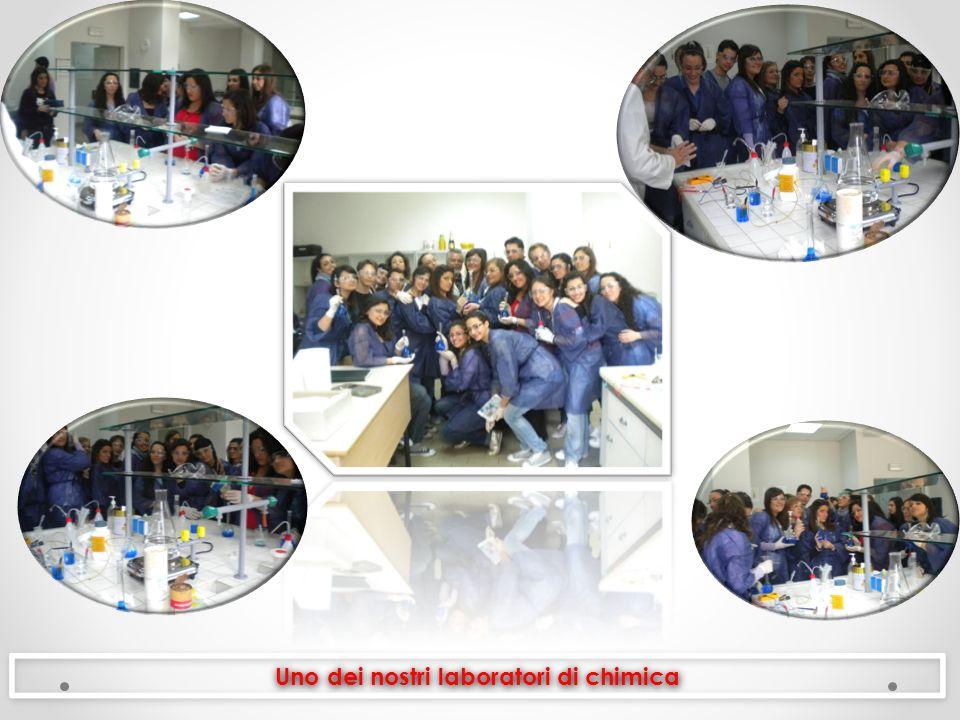 Uno dei nostri laboratori di chimica