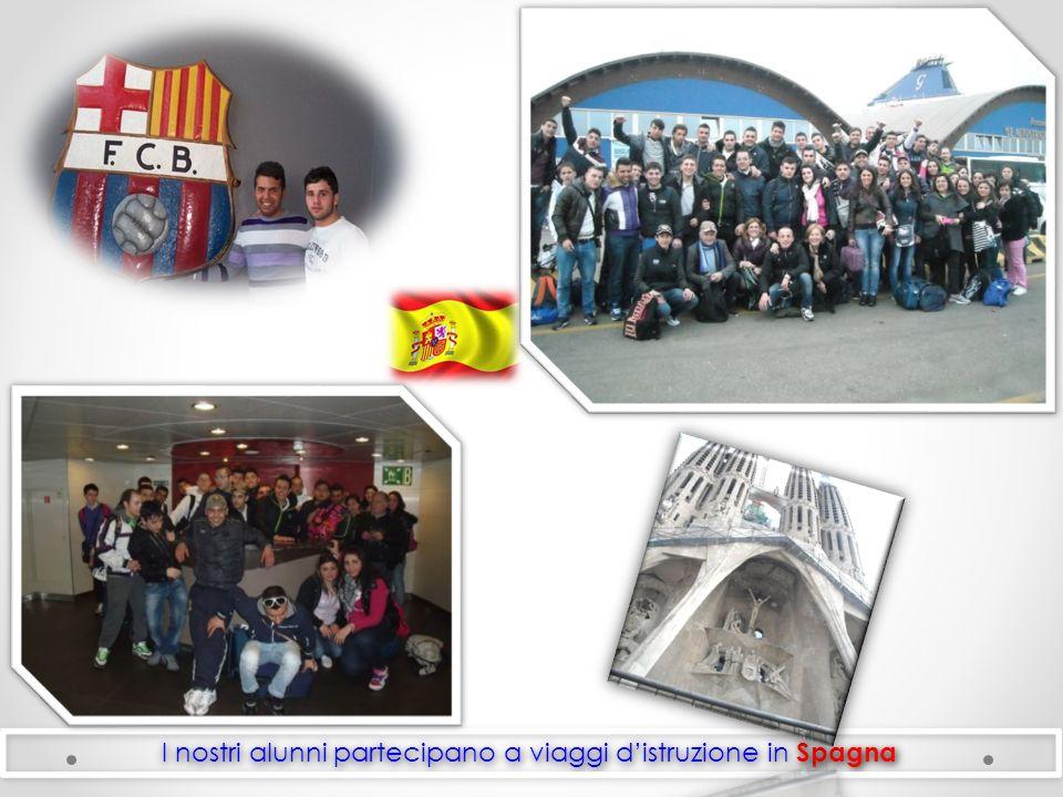 I nostri alunni partecipano a viaggi d'istruzione in Spagna