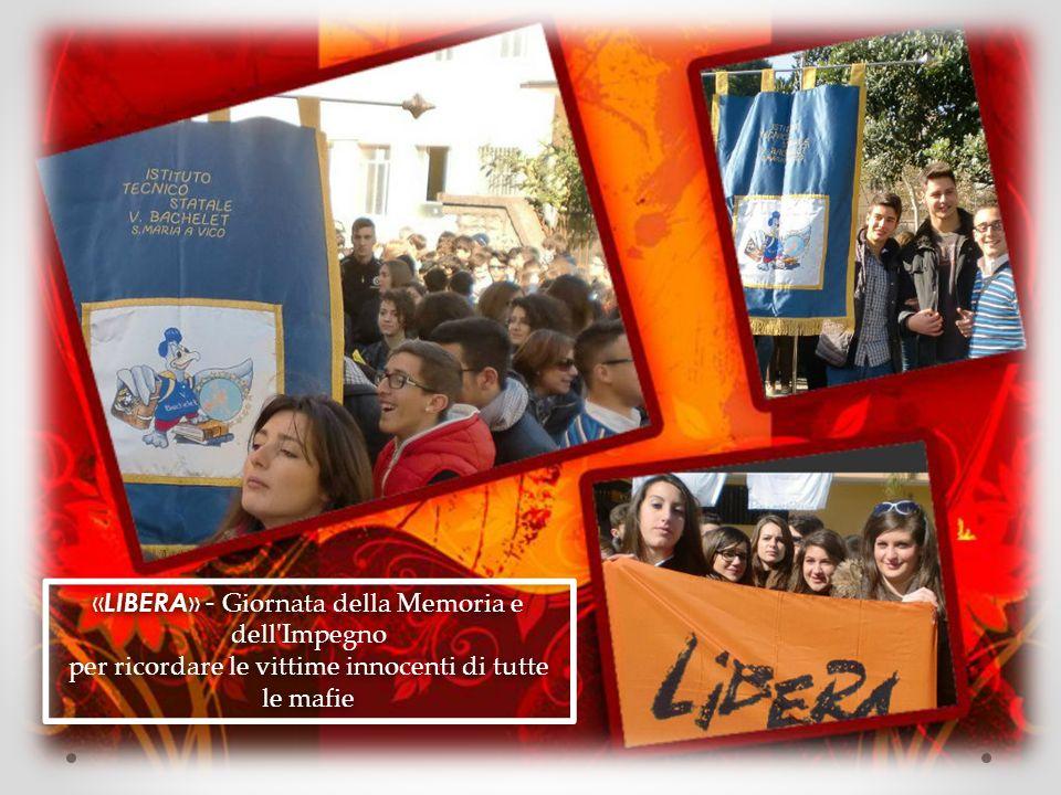 «LIBERA» - Giornata della Memoria e dell Impegno