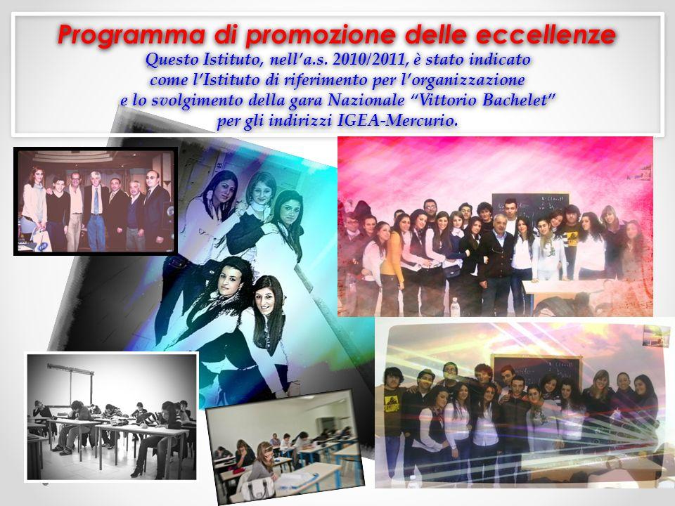 Programma di promozione delle eccellenze