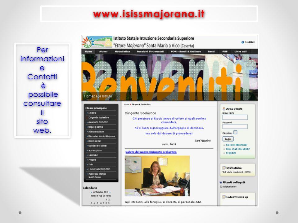 www.isissmajorana.it Per informazioni e Contatti è