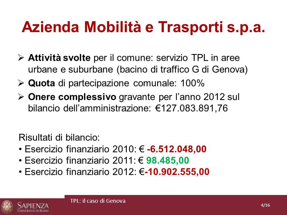 Azienda Mobilità e Trasporti s.p.a.