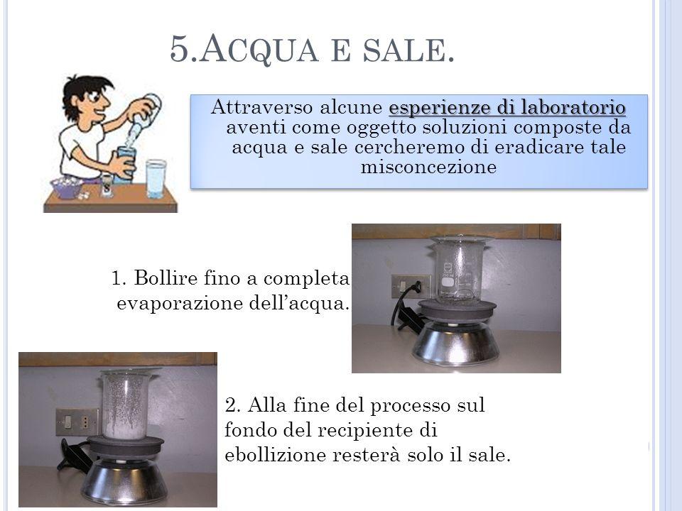 5.Acqua e sale.