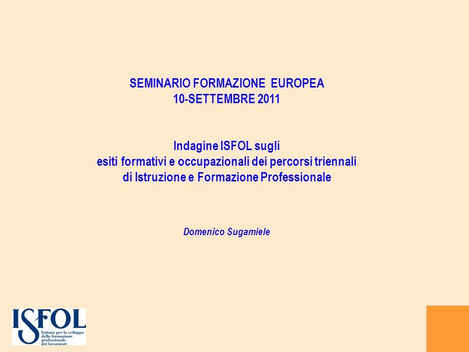 SEMINARIO FORMAZIONE EUROPEA 10-SETTEMBRE 2011