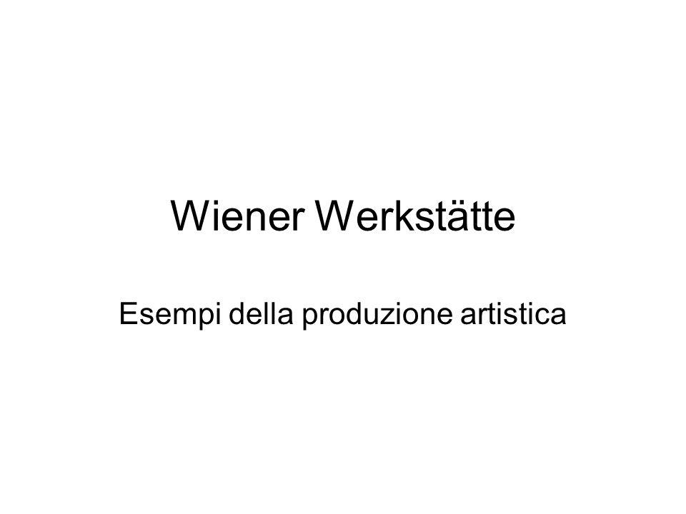 Esempi della produzione artistica