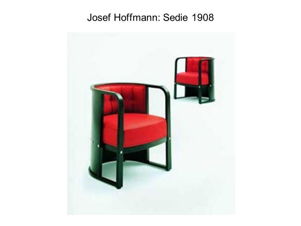 Josef Hoffmann: Sedie 1908
