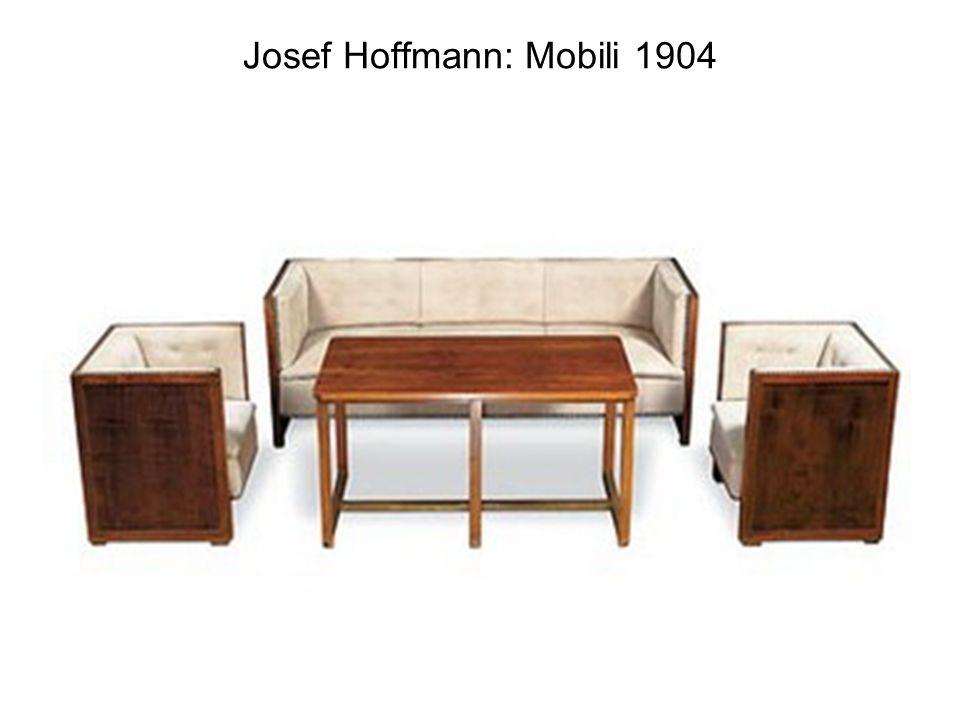 Josef Hoffmann: Mobili 1904