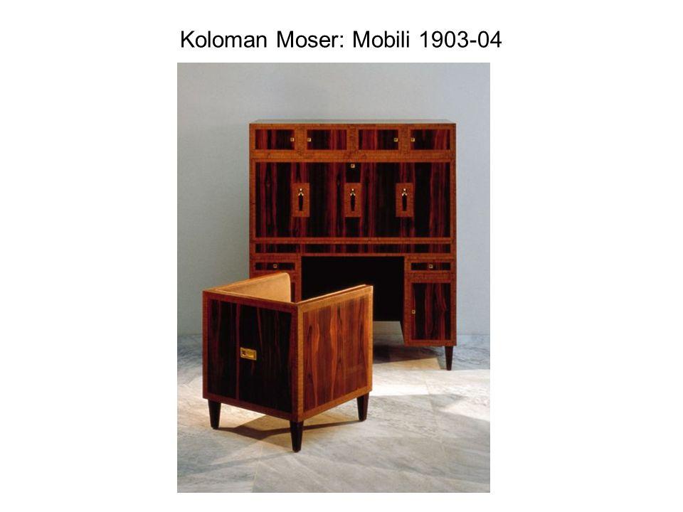 Koloman Moser: Mobili 1903-04
