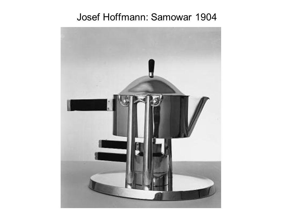 Josef Hoffmann: Samowar 1904