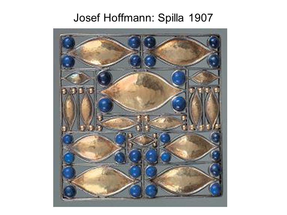 Josef Hoffmann: Spilla 1907
