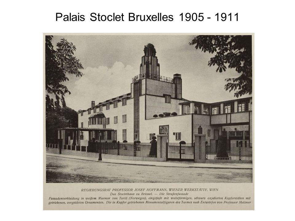 Palais Stoclet Bruxelles 1905 - 1911