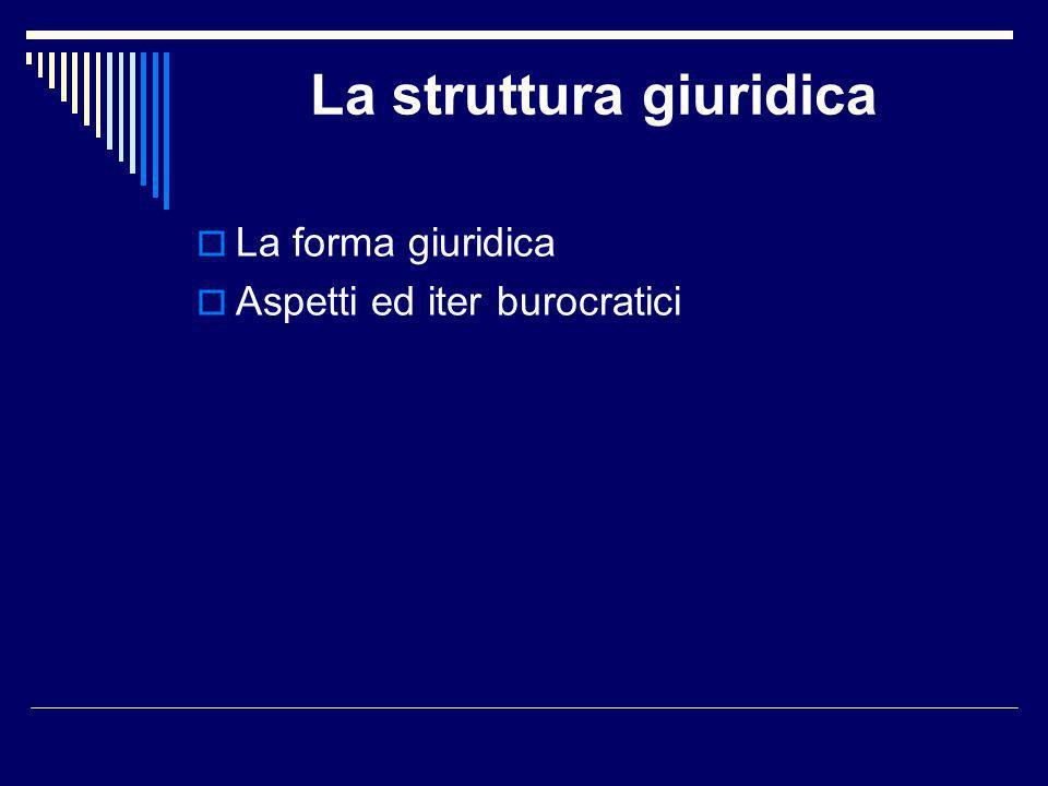 La struttura giuridica
