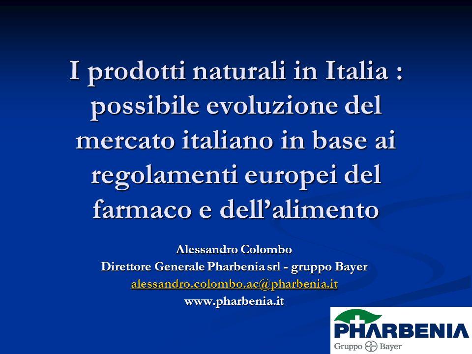Direttore Generale Pharbenia srl - gruppo Bayer