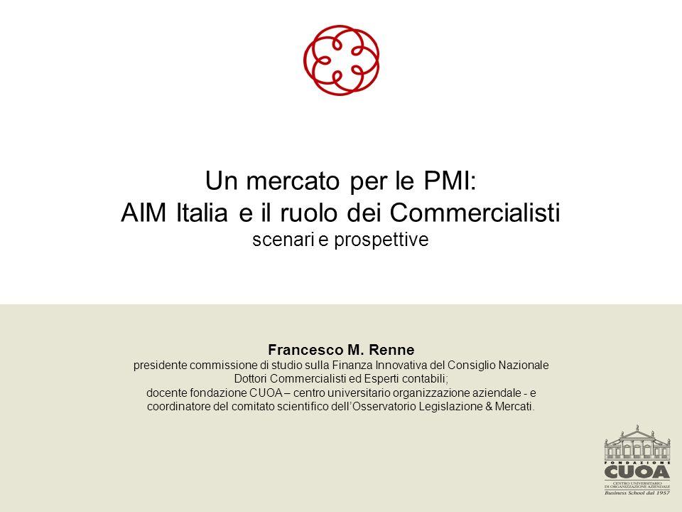 AIM Italia e il ruolo dei Commercialisti