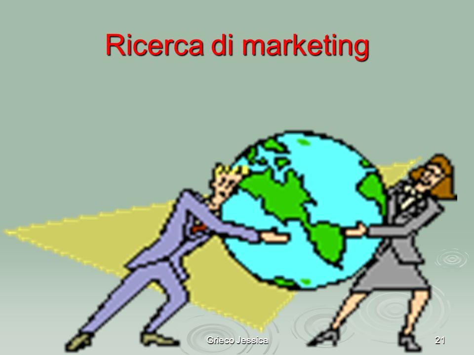 Ricerca di marketing Grieco Jessica