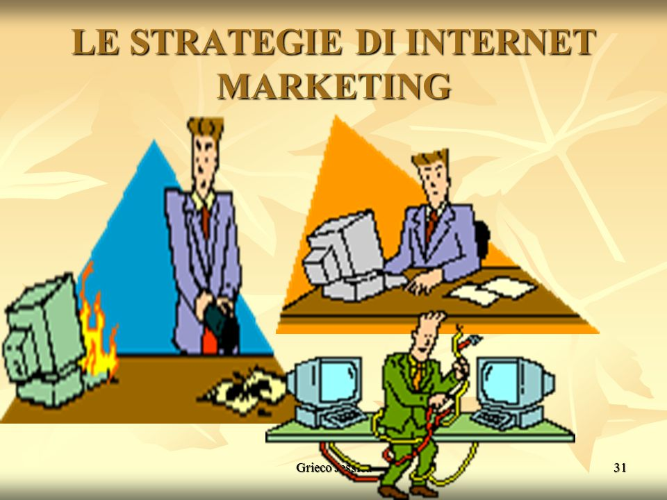 LE STRATEGIE DI INTERNET MARKETING