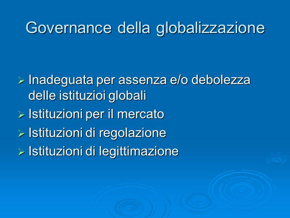 Governance della globalizzazione