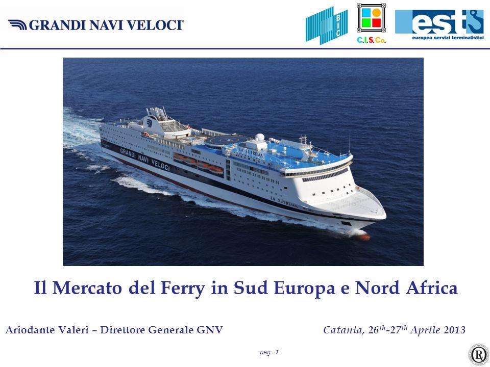 Il Mercato del Ferry in Sud Europa e Nord Africa