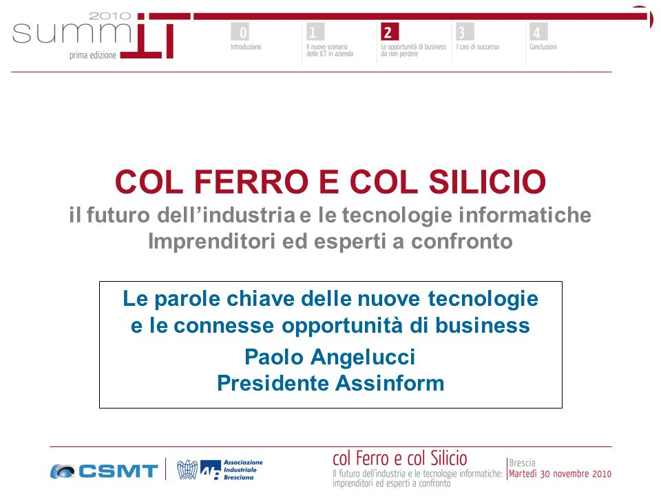 Paolo Angelucci Presidente Assinform