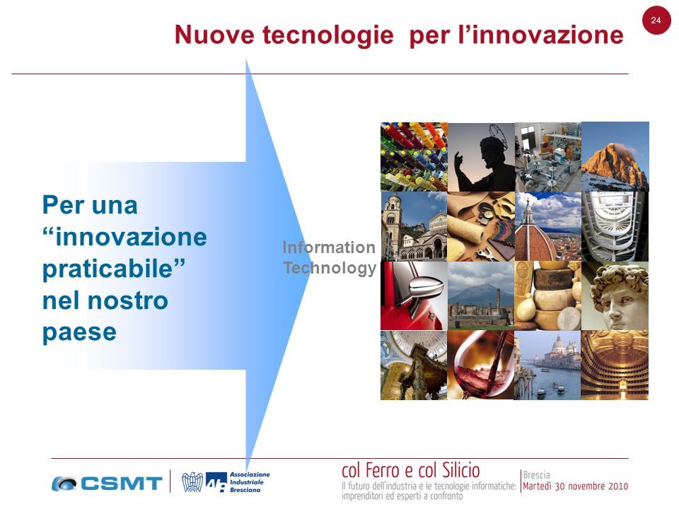 Nuove tecnologie per l'innovazione