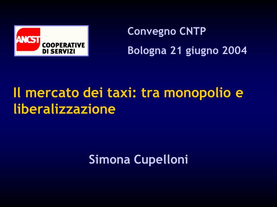 Il mercato dei taxi: tra monopolio e liberalizzazione