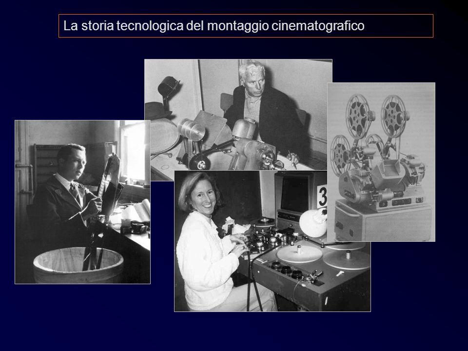 La storia tecnologica del montaggio cinematografico