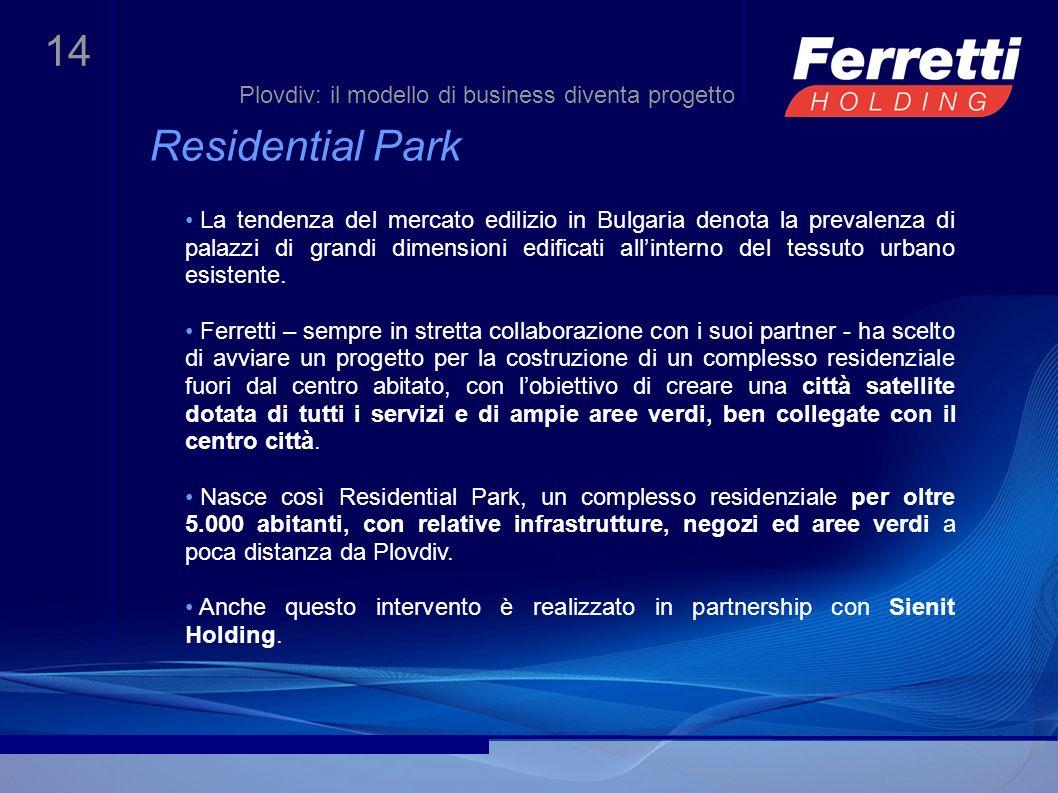 Residential Park Plovdiv: il modello di business diventa progetto