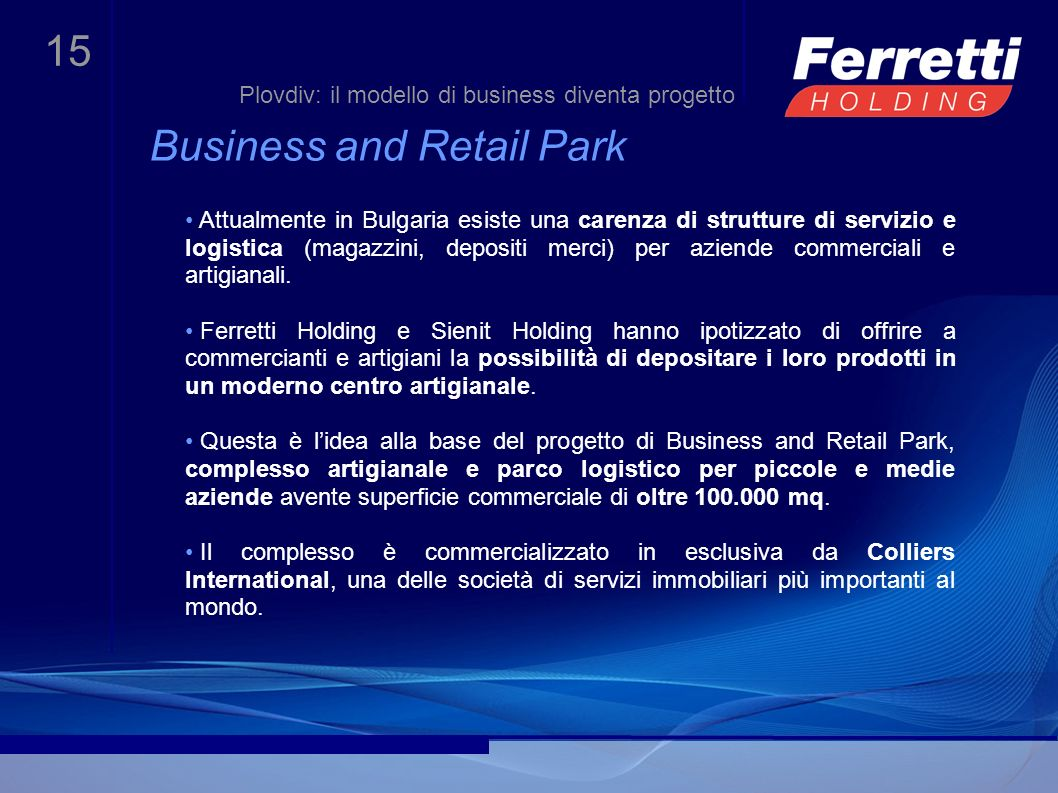 Business and Retail Park