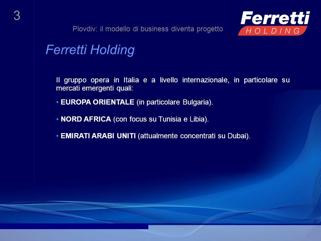 Ferretti Holding Plovdiv: il modello di business diventa progetto