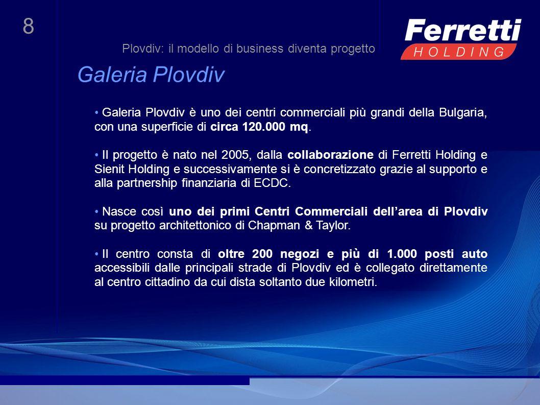 Galeria Plovdiv Plovdiv: il modello di business diventa progetto