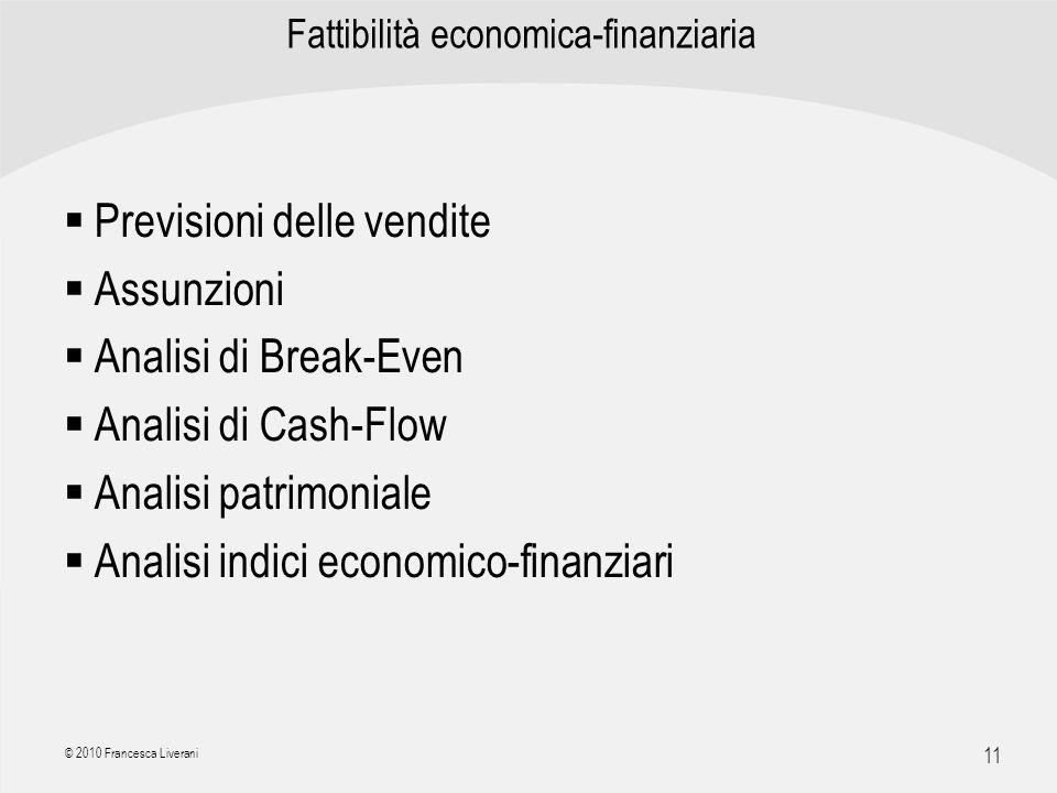 Fattibilità economica-finanziaria