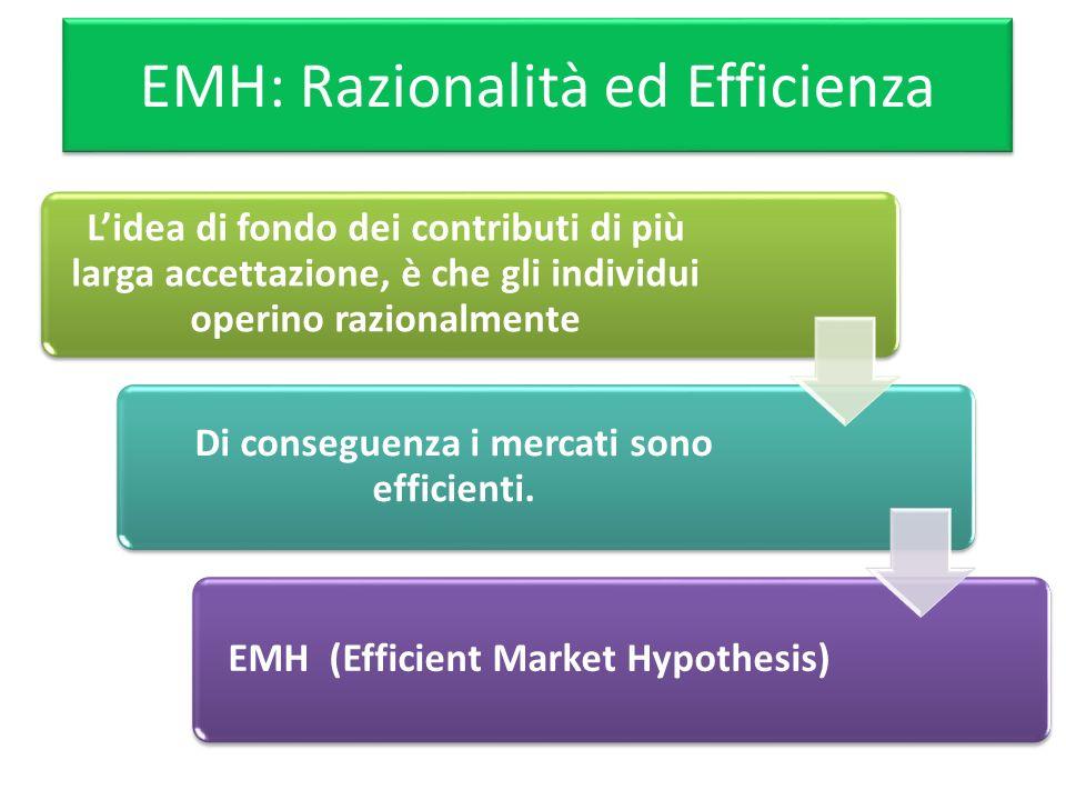EMH: Razionalità ed Efficienza