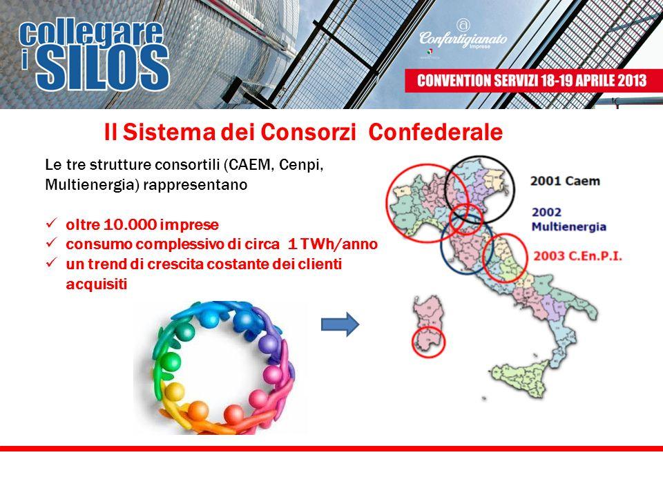 Il Sistema dei Consorzi Confederale