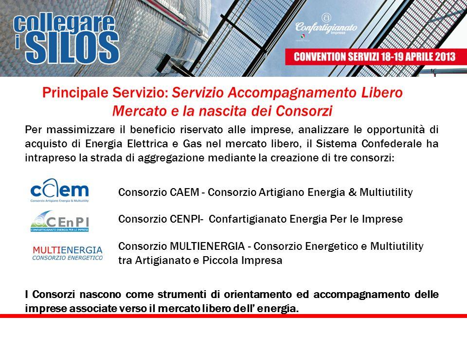 Principale Servizio: Servizio Accompagnamento Libero Mercato e la nascita dei Consorzi