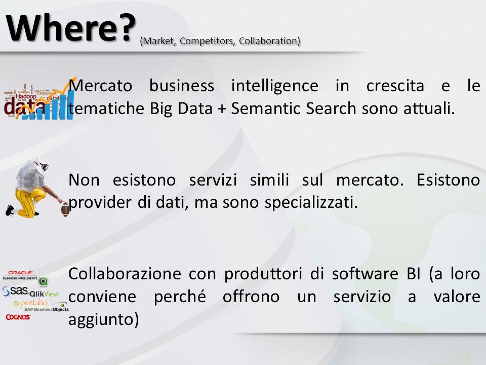 Where (Market, Competitors, Collaboration)