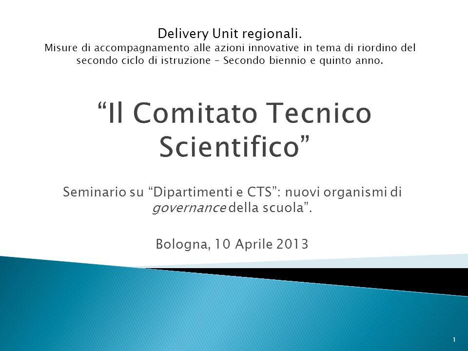 Il Comitato Tecnico Scientifico
