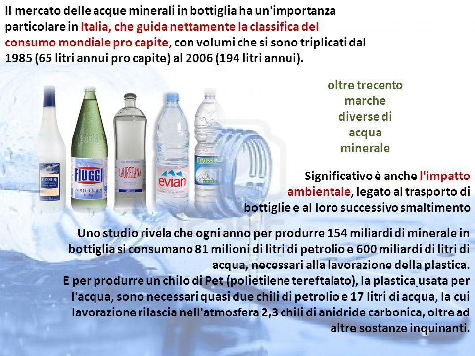Tipi di acqua e etichette ppt video online scaricare for Caldaia ad acqua di plastica