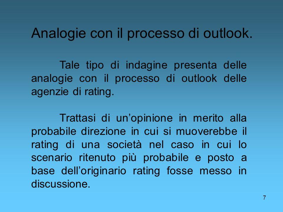 Analogie con il processo di outlook.