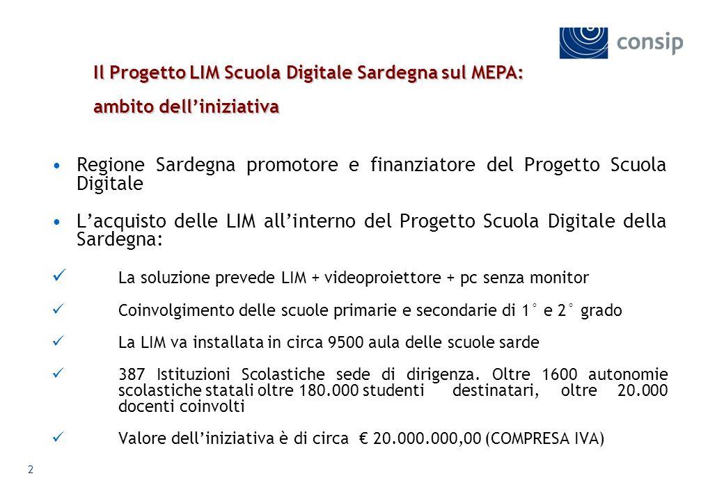 Regione Sardegna promotore e finanziatore del Progetto Scuola Digitale