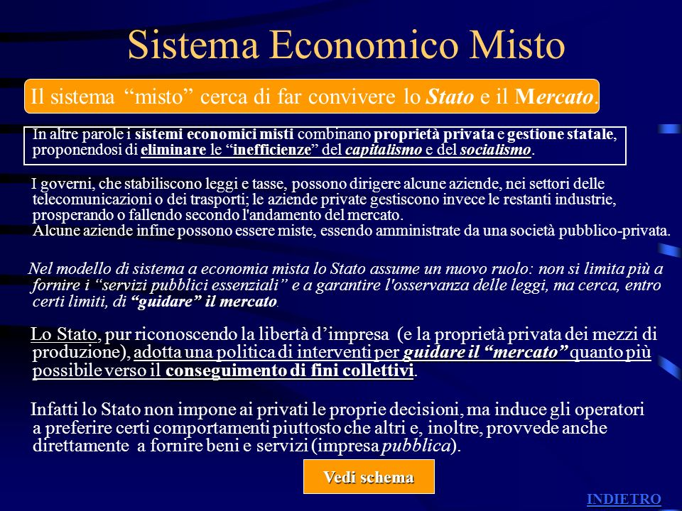 Sistema Economico Misto