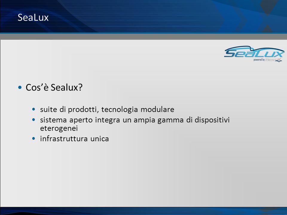 SeaLux Cos'è Sealux suite di prodotti, tecnologia modulare