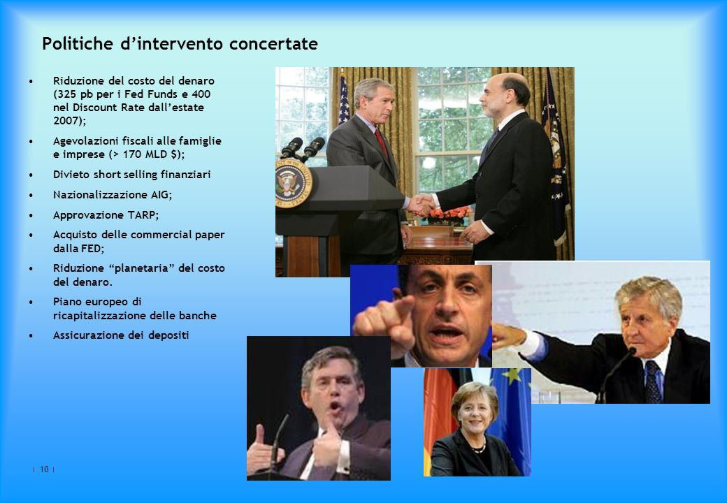 Politiche d'intervento concertate
