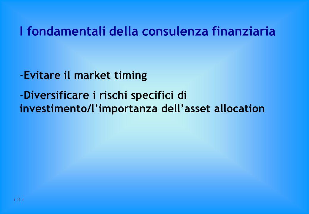 I fondamentali della consulenza finanziaria